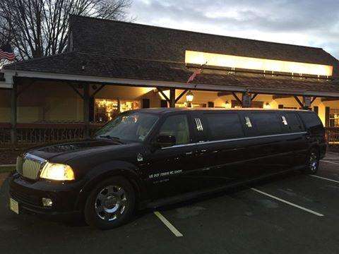 Black SUV Limousine